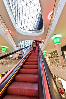 Free The Steep Escalator Stock Photos - 23164233