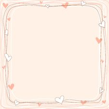 Free Valentine Greeting Card Royalty Free Stock Photos - 23169168