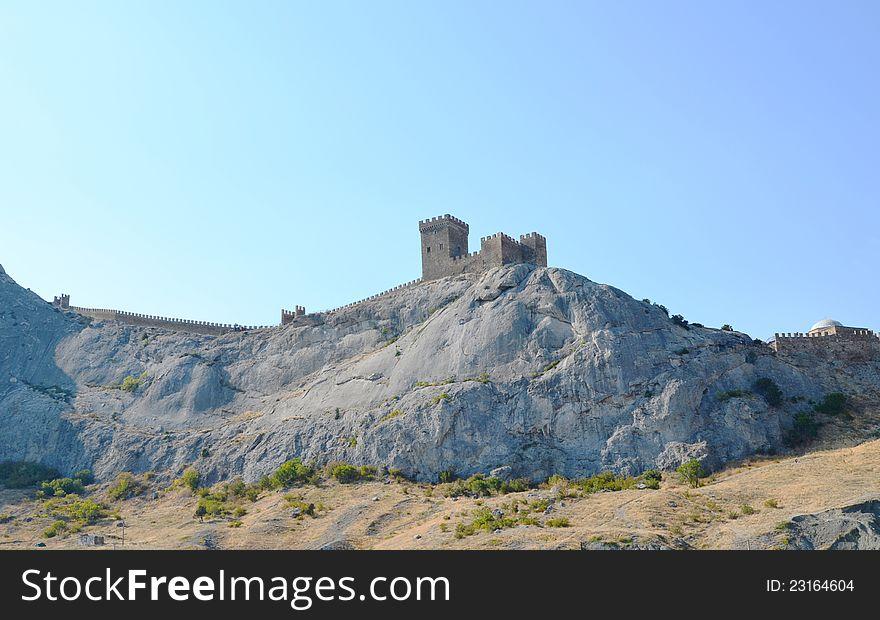 The Genoa fortress.