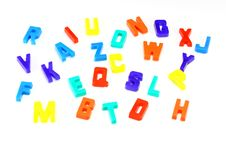 Free ABC Alphabet Royalty Free Stock Photo - 23170225