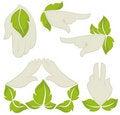 Free Symbols Of Human&x27;s Hands Stock Image - 23184021
