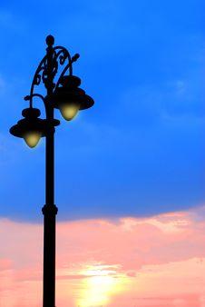 Free Lamp Post Stock Image - 23181961
