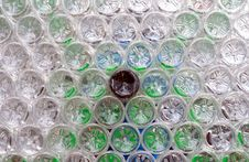 Recycled Plastic Bottles Royalty Free Stock Photo