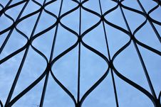 Free Steel Cage Royalty Free Stock Photos - 23185348