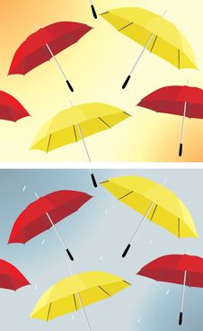 Free Umbrella Background Royalty Free Stock Photography - 23186007