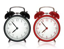 Free Vector Alarm Clock Stock Photos - 23186513