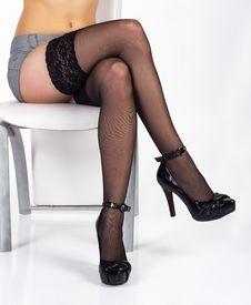 Free Slim Sexy Leg Stock Image - 23187861