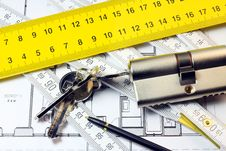 Free Security In Home Royalty Free Stock Photo - 23188315