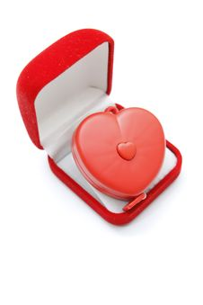 Free Red Heart In Gift Box Stock Image - 23189991