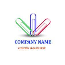 Company Emblem Stock Photography