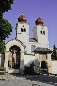 Free Millstatt Abbey Church Stock Images - 23193134