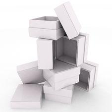 Free Empty Boxes Royalty Free Stock Photos - 23193488