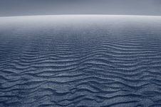 Sand Dune. Royalty Free Stock Photo