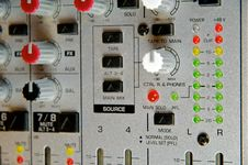 Free Audio Mixer Royalty Free Stock Image - 23195396