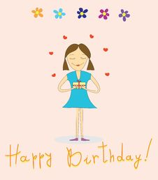 Free Happy Birthday Royalty Free Stock Photography - 23195637
