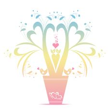 Free Valentines Floral Royalty Free Stock Images - 23196479