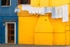 Free Colourful Houses Of Burano Royalty Free Stock Photography - 23196797