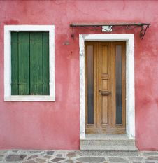 Free Colourful Houses Of Burano Stock Photography - 23196922