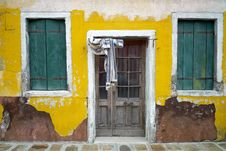 Free Colourful Houses Of Burano Stock Photo - 23197070