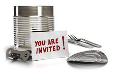 Free You Are Invited Royalty Free Stock Image - 23197356