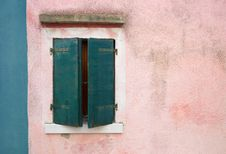 Free Colourful Houses Of Burano Stock Photo - 23197690