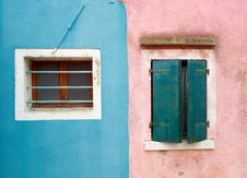 Free Colourful Houses Of Burano Royalty Free Stock Images - 23197719