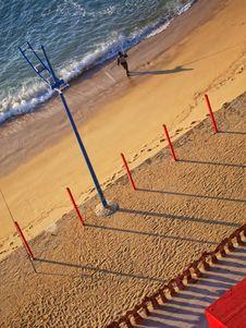 Free Portuguese Golden Coast Beach Royalty Free Stock Photo - 23198345