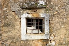 Free Old Stone Window Royalty Free Stock Image - 23198356
