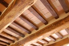 Free Wooden Roof Royalty Free Stock Image - 23198576
