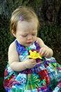 Free Cute Little Girl Outside Stock Photo - 2324720