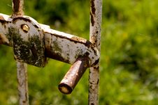 Free Old Fence Lock Stock Photos - 2320453