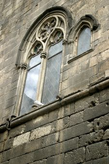 Old Church Window Stock Image