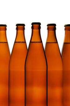 Free Beer Bottles Royalty Free Stock Photo - 2320965
