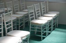 Free Wihte Chairs Stock Image - 2322311