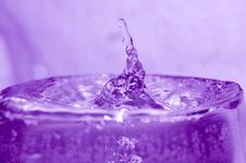 Free Water And Waterdrops Stock Image - 2322521