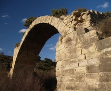 Free Ancient Roman Bridge Of Mantib Stock Photography - 2322672