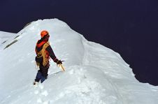 Free Alpine Trekker Royalty Free Stock Photo - 2322895