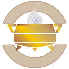 Cauldron Logo Royalty Free Stock Images