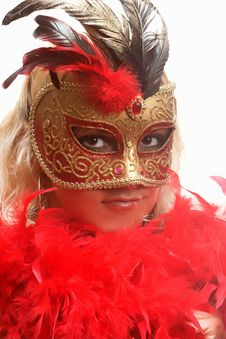 Free The Mask Royalty Free Stock Image - 2324786