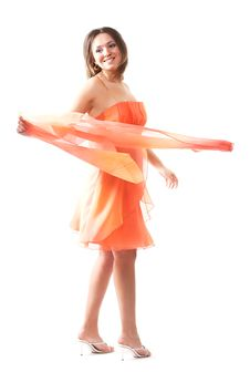 Free Dancing Girl Royalty Free Stock Photography - 2324887