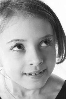Free Portrait Of A Little Girl Stock Photos - 2324943