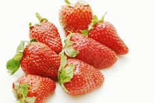 Free Red Strawberry Isolated Royalty Free Stock Photo - 2325975
