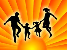 Free Family In The Sun Royalty Free Stock Photo - 2326035
