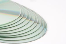Free A Pile Of 9 CDs Stock Photos - 2326393