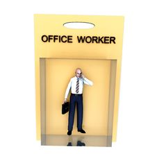 Free Toy Worker 5 Stock Image - 2327671
