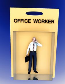Free Toy Worker 56 Royalty Free Stock Photography - 2327697