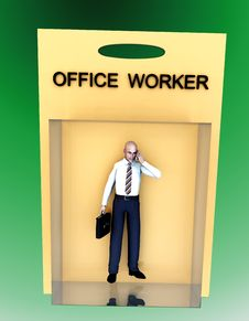 Free Toy Worker 59 Royalty Free Stock Photos - 2327698