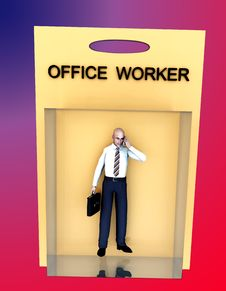 Free Toy Worker 64 Stock Photos - 2327713