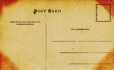 Free Acid Corner Postcard Stock Images - 2329614