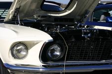 Free 1969 Ford Mustang Front Grill Stock Photos - 2329713